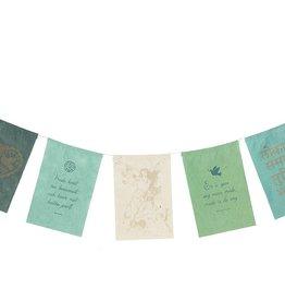 Postcard flags Peace