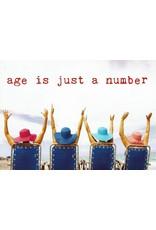 ZintenZ postkaart Age is just a number