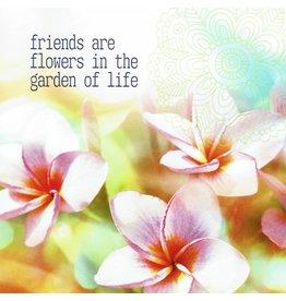ZintenZ postkaart Friends are flowers