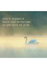 ZintenZ postcard Alles is vergankelijk