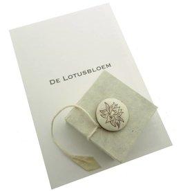 Lotusbloem geschenkdoosje