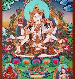 Dakini postcard Ushnisha Vijaya