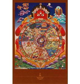 Dakini postcard Wheel of Life