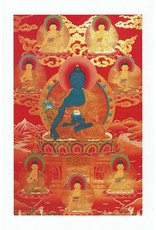 Dakini postkaart Medicijn Boeddha