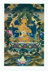 Dakini postcard Manjushri