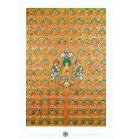 Dakini postcard Shakyamuni Buddha