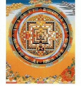 Dakini postkaart Kalachakra mandala