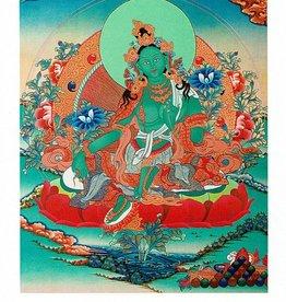Dakini postkaart Groene Tara