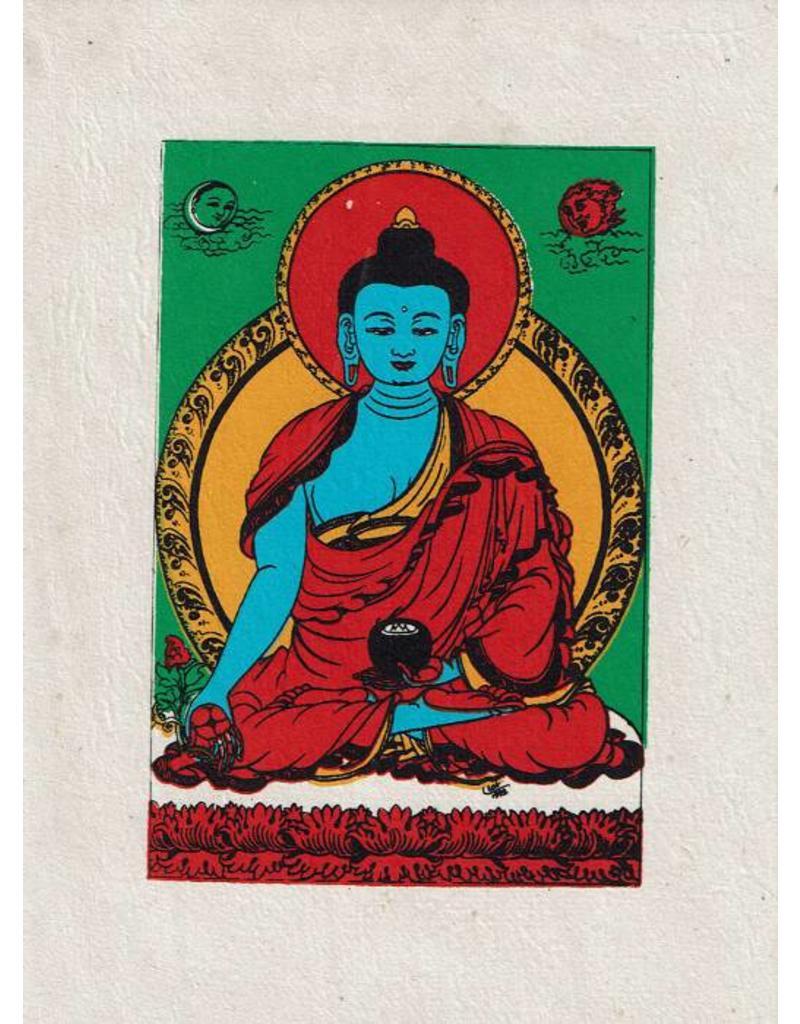 Dakini wenskaart Medicijn Boeddha