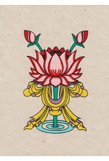 Dakini greeting card Lotus