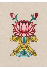 Dakini wenskaart Lotus