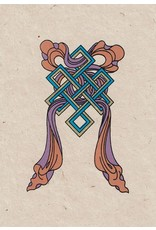 Dakini greeting card The endless knot