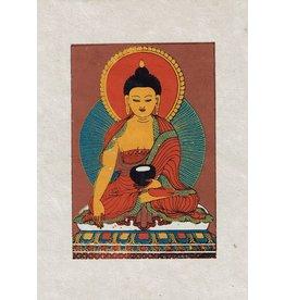 Dakini wenskaart Shakyamuni Boeddha