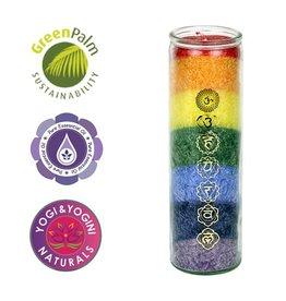 Yogi & Yogini scented candle Chakra