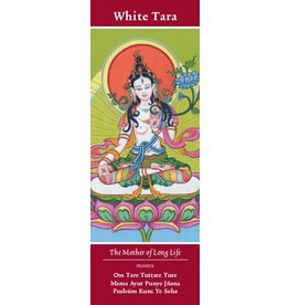 Tibetan Buddhist Art bookmark White Tara