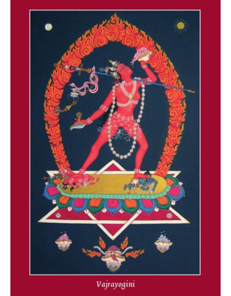 Tibetan Buddhist Art postkaart Thangka cadeauset klein