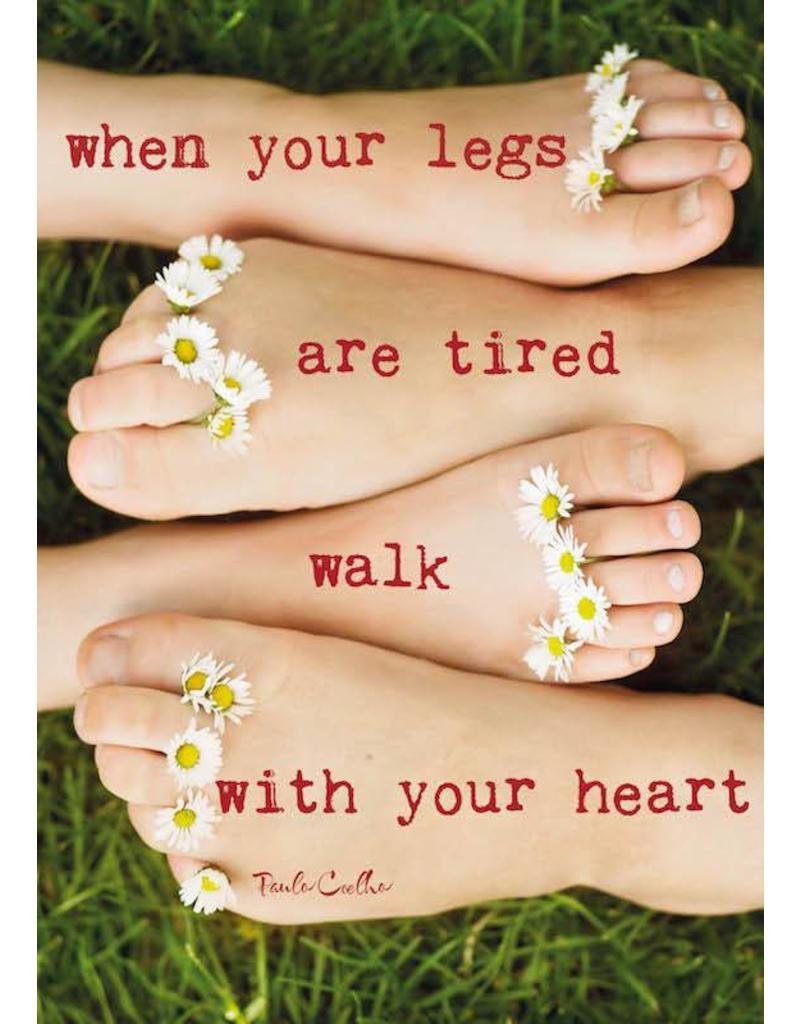 ZintenZ postkaart When your legs