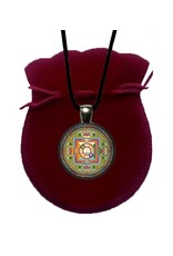 Tibetan Buddhist Art ketting Mandala van Avalokiteshvara