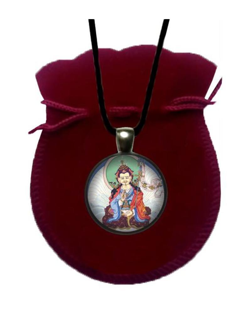 Tibetan Buddhist Art necklace Padmasambhava