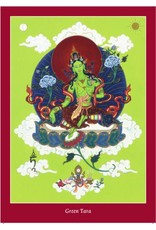 Tibetan Buddhist Art Postcard Thangka giftset large