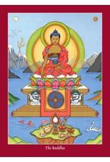 Tibetan Buddhist Art Postcard Thangka giftset large