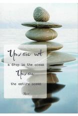 ZintenZ postcard You are not a drop in the ocean