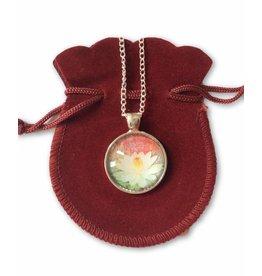 Tibetan Buddhist Art ketting Lotus