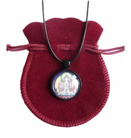 Tibetan Buddhist Art necklace Avalokiteshvara