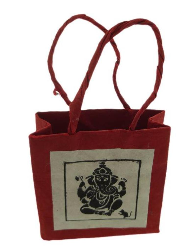 Dakini Ganesh gift bag brass