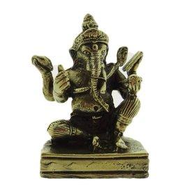 Dakini altar statue Ganesh brass