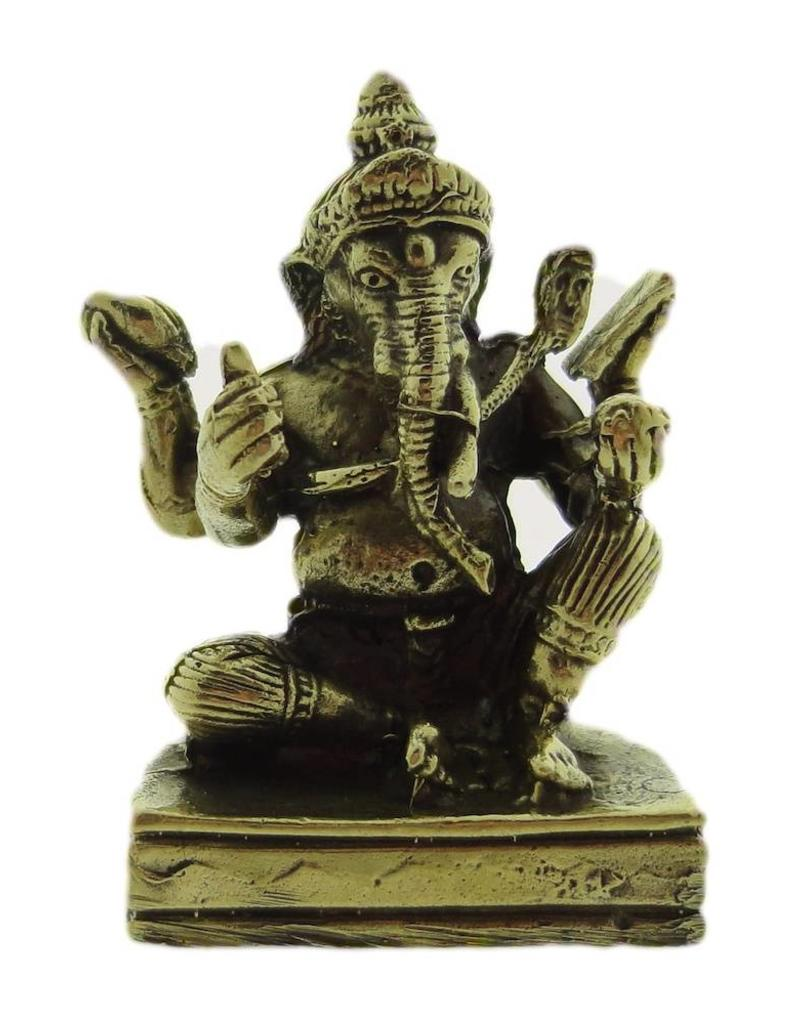 Dakini Ganesha geschenktasje messing