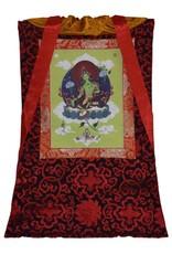 Tibetan Buddhist Art thangka Groene Tara