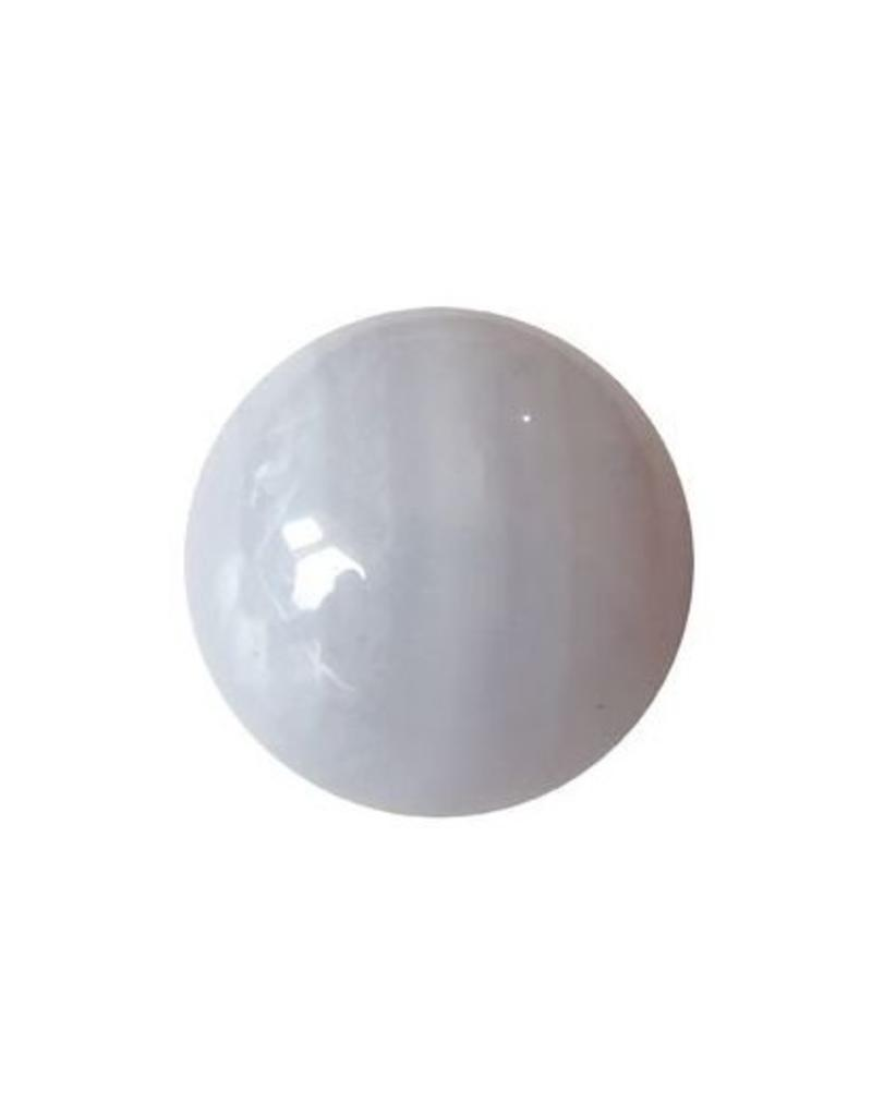 Interchangeable gemstone Agate blue lace 10 mm