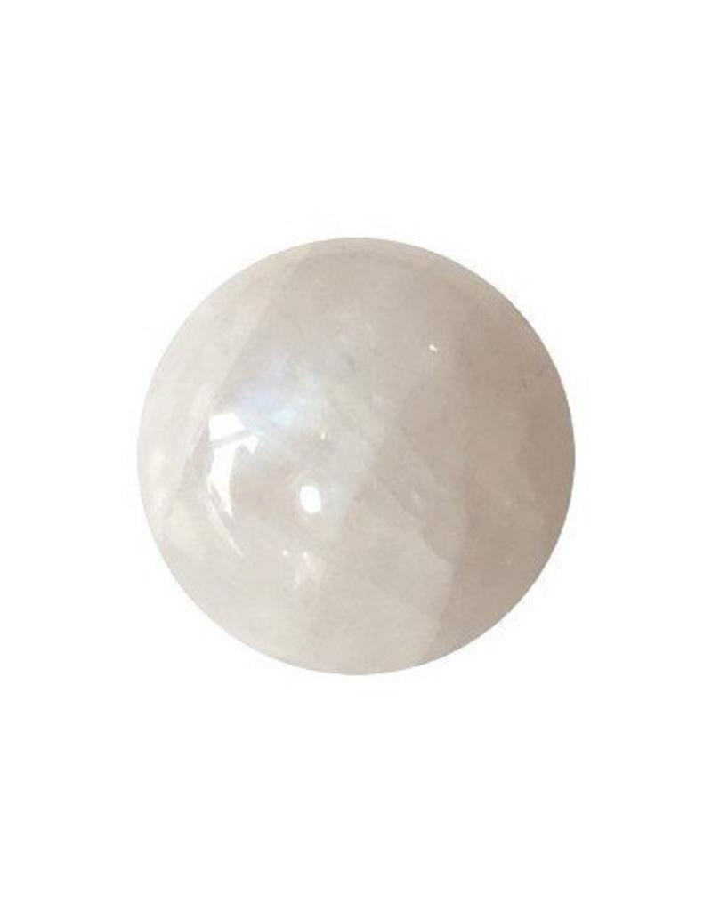 Interchangeable gemstone Moonstone 10 mm
