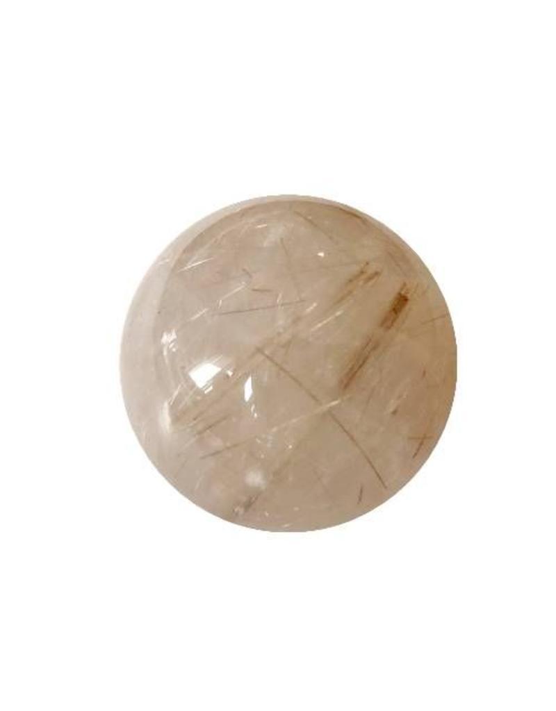 Interchangeable gemstone Rutilated Quartz