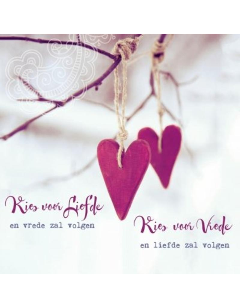 ZintenZ postcard Kies voor Liefde