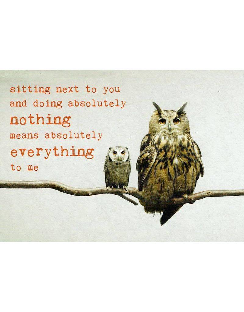 ZintenZ postcard Sitting next to you