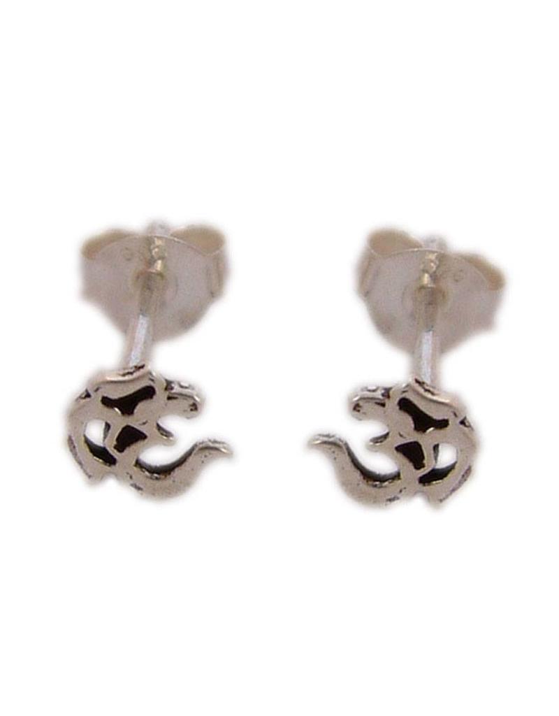 Shanti stud earrings lotus - Copy