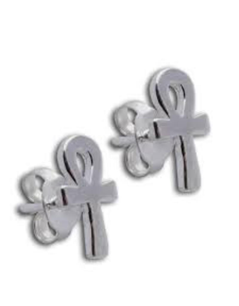 Shanti stud earrings Ankh