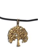 """Shanti necklace """"Tree of life"""" recycled brass"""