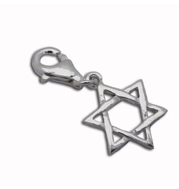 Shanti charm Star of David
