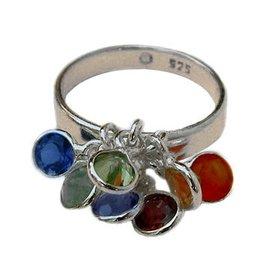 Shanti ring seven chakras