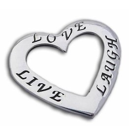 Shanti pendant Live Love Laugh