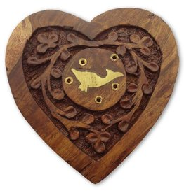Incense burner Heart