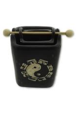 Fragrance oil burner Yin Yang