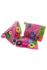 Dakini wallet Flowers