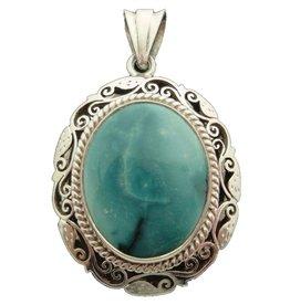 Dakini pendant Turquoise brocante