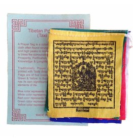 Dakini Tibetan prayer flags mini Taxi