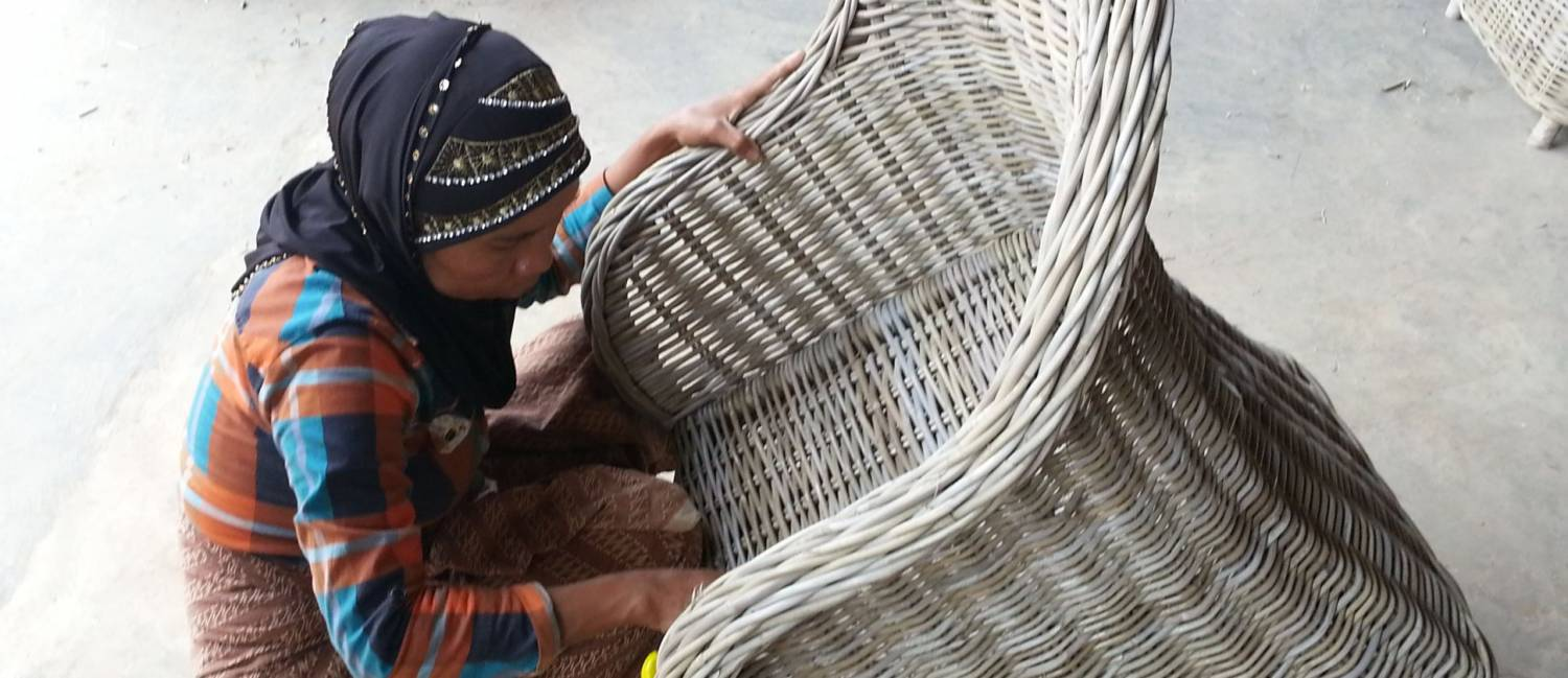 Rattan Baskets, furniture, and more