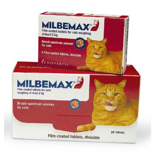 Milbemax Katze 20 Tabletten